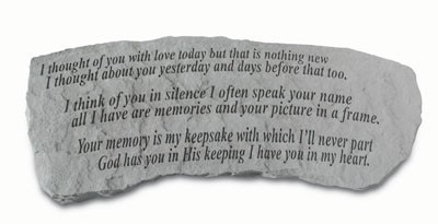 weekending memorial stones benches chimesdelivery available to